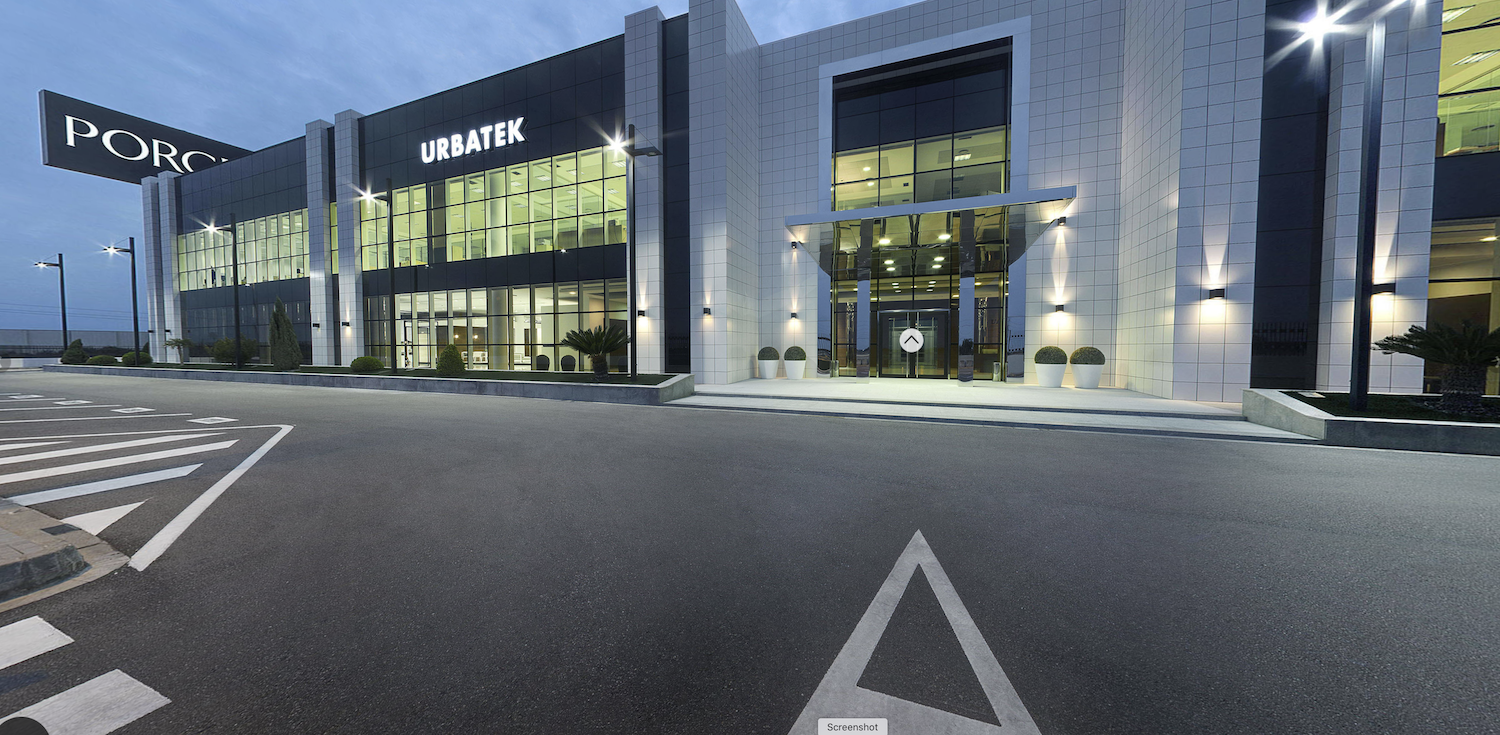 Virtual Showroom Visit Urbatek